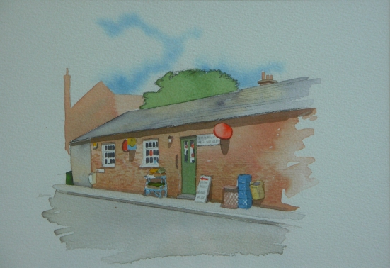 Post Office and Home Farm Stores, our Village shop