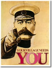 village needs you
