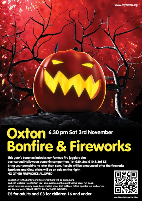 Oxton Bonfire and Fireworks 2012 (1/2)