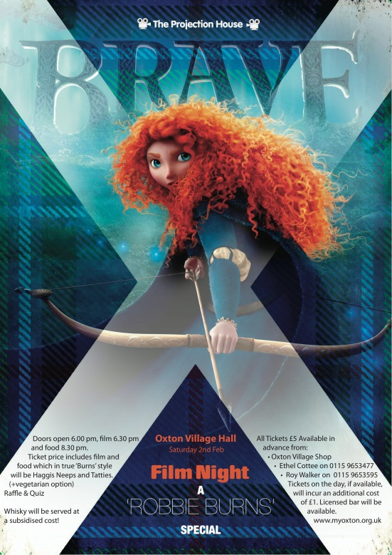 BRAVE Film Poster March 2013 colour
