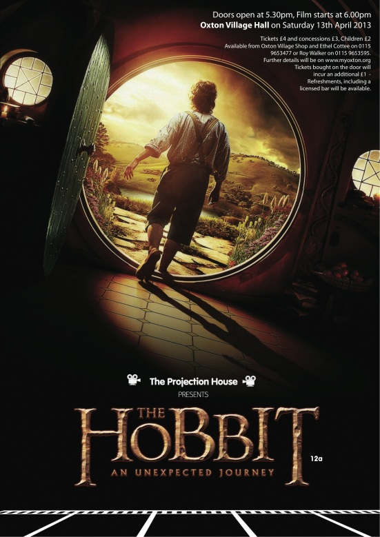 The projection house - The Hobbit  colour poster