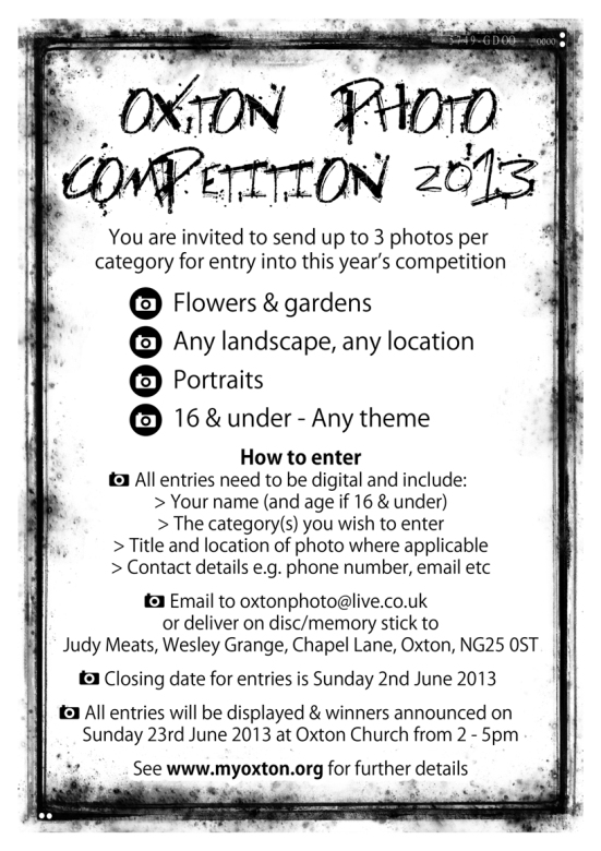 Photo comp 2013 - Poster mk2 SEND2