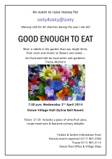 Good Enough to Eat – Wed 2nd April