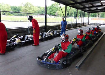 99 Club go Karting at Amen Corner