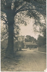 Old photo of Oxton Church